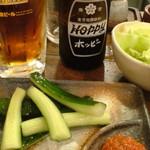 串揚げ しゃかりき - ホッピー&野菜