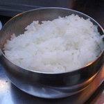 韓国料理 トヤジ - ご飯(¥300-)