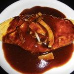 フェデリーニ - 鶏ときのこのチーズ入りふわふわオムレツ
