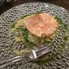 Ramezonruju - 料理写真:活毛ガニと青味野菜のサラダ仕立て バジル風味 1,580円