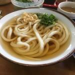 谷本うどん - 料理写真:かけうどん(*゚∀゚*)150円