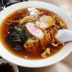 まるやま食堂 - 料理写真:ランチAセットのラーメン(16-12)