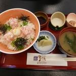 御食事処 弓ヶ浜 - かにトロ丼 1,150円