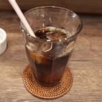 ジゾウカフェ - アイスコーヒー(500円)