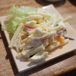 とりいち - マカロニサラダ(400円)