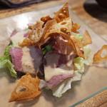 とりいち - ローストビーフサラダ(650円)