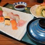 播磨水産 - 寿司ランチC