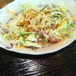 お好み焼 鉄板焼 徳川 - サラダ