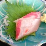 女良食堂 - 波の伊八めし(刺身)