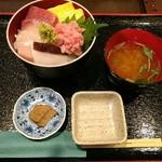 カネト水産 海の市 - 2016.11まかない丼(1000円)