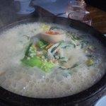 5961247 - とんこつ味の石焼野菜ラーメン