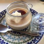 森のcafe - ほうじ茶プリン