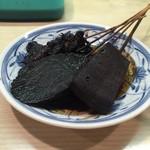 Tompachi - 味噌おでん(どて、大根、コンニャク)
