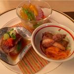 59612270 - 前菜(新庄町鹿肉など)