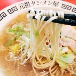 元祖タンメン屋 - 麺やや固め
