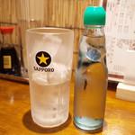 立ち酔い 超人 - ラムネサワー(300円)