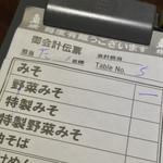 東横 - 東横 愛宕店(新潟県新潟市中央区愛宕)伝票