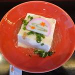 豆腐かふぇ 浦島 - かにあんかけ豆腐