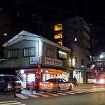 あま太郎 - 交差点に面しています(2016年12月)