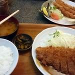 大富士 - ロースかつ定食