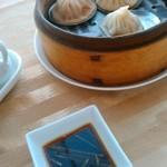 全聚徳 - [料理] 小籠包 3種 & 専用ダレ 全景♪w