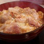 59620898 - ランチの熱々親子丼、千円なり