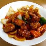 ラーメン SunQ - 料理写真:酢豚!(2016,11/25)