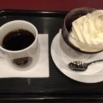 カフェ・ベローチェ - ベローチェではいつもこれ 珈琲ゼリーおいしい