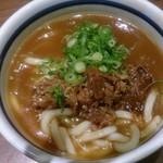 門左衛門 麺・串 - カレーうどん
