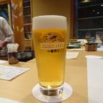 きたむら - 生ビール(648円)