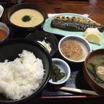 漁火 - 【ランチ】麦とろ定食 980円(税込)