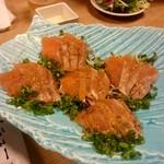 59624504 - 鮭炙りたたきと香味野菜