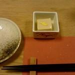59624508 - なめらか胡麻豆腐