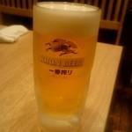 いく昌 - 生ビール:550円