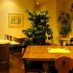 ラ・メール りんごの木 - 店内(カフェ)