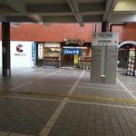 59625592 - 駅構内からのお店遠景。(珍しいかなと思いまして)                       右手にも、別のうどん屋さんがありますね~。(どっちか悩みました)