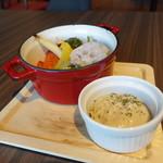 Vesta - ☆窯焼き野菜盛り沢山バーニャサラダ!(^^)!☆
