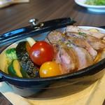 59625936 - ☆【Vesta】さん…島安納豚のストーブ料理(≧▽≦)/~♡☆