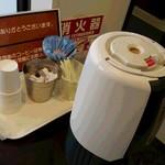 フクスケ - ドリンク写真:サービスのコーヒー♪