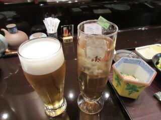天ぷら ひさご - 飲物付き~