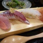 寿司 いいじま - 握りはしゃりこまです^^
