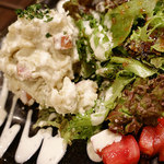 ベルサイユの豚 - 「ゴルゴンゾーラのポテトサラダ」