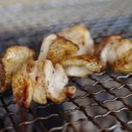 Robatayakisanroku - 料理写真:地鶏塩焼き