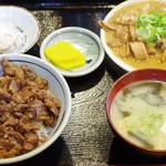 かつ美食堂 - 肉めしセット