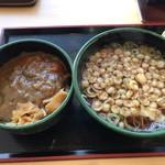 ゆで太郎 - ミニカレー丼セット