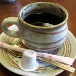 中居屋 - 食後のコーヒー