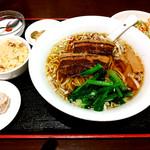 上海台所 - ラーメン定食