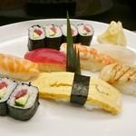 は満寿司 - にぎり(は満ランチ)