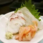 は満寿司 - 刺身(は満ランチ)