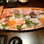 北海亭 - 料理写真:刺し盛6人前位かな~?